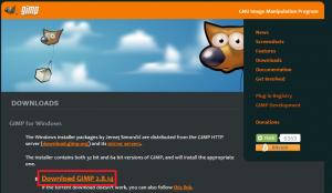 1 gimp ホームページ